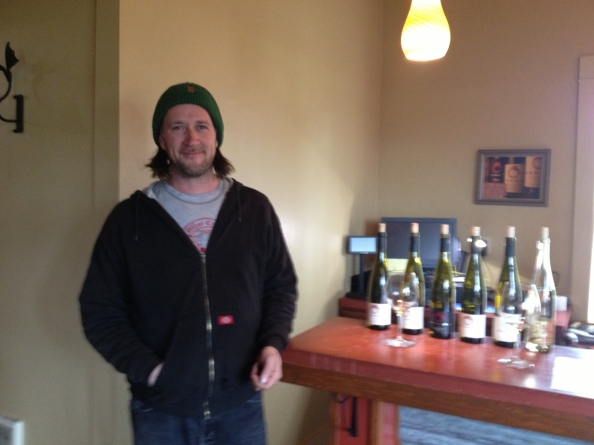 Chris Williams of Brooks WInery